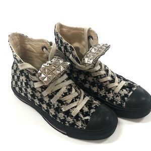 Converse Chuck Taylor Houndstooth High tops 36.5